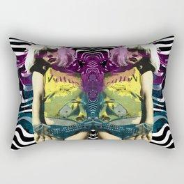 Vulture (Debbie Harry of Blondie pop art) Rectangular Pillow