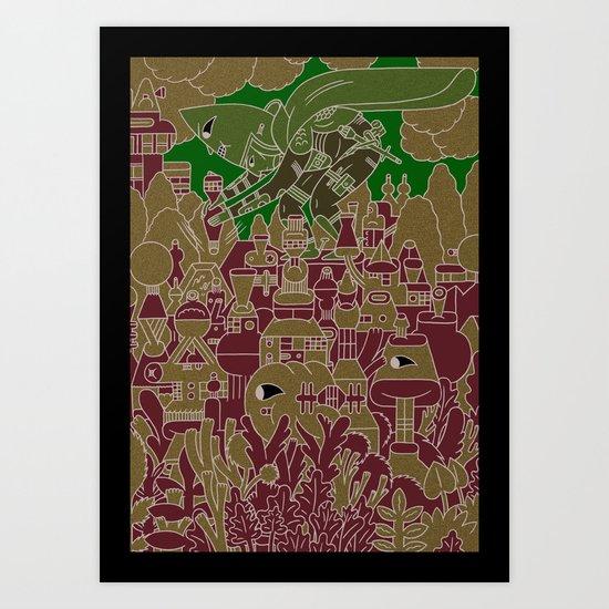 xo--//THT\\--ox Art Print