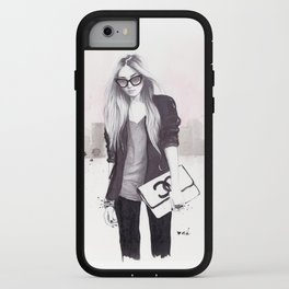 Back In Black iPhone Case