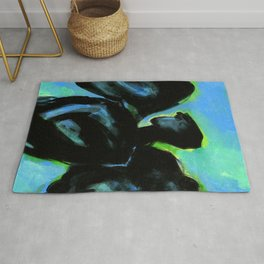Angel Of Healing by Kathy Morton Stanion Rug