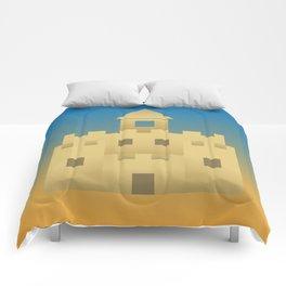 Sand Castle Sunshine Comforters
