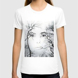 face in the trees T-shirt