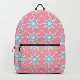 Girly Abstract Star Pattern Backpack