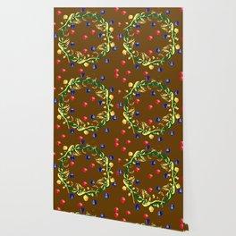 Festive baubles Wallpaper