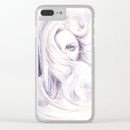 Aura - wind illustration Clear iPhone Case