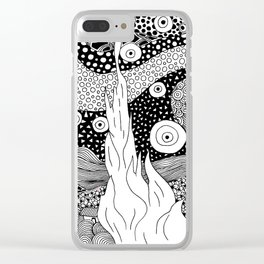 Van Gogh - Starry Night Clear iPhone Case