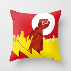 Polygon Heroes Rise 4 Throw Pillow