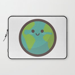 Earth Emoji Laptop Sleeve