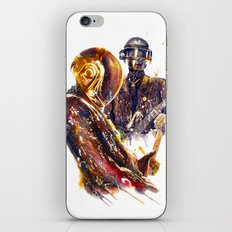 DAFTPUNK III iPhone & iPod Skin