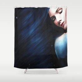 Starry Dreamer Shower Curtain
