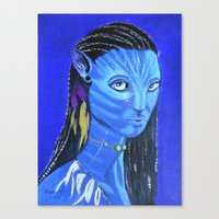 avatar Canvas Prints featuring Avatar by maggs326