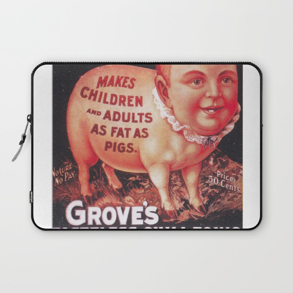 Grove's Tasteless Tonic Laptop Sleeve (LSV9453837) photo