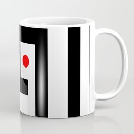 Focus on red point - Vector Coffee Mug