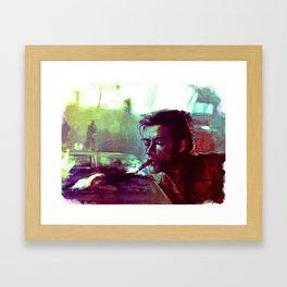 Hugh Jackman Framed Art Print