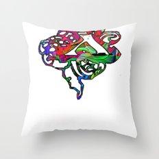 X Chi Throw Pillow