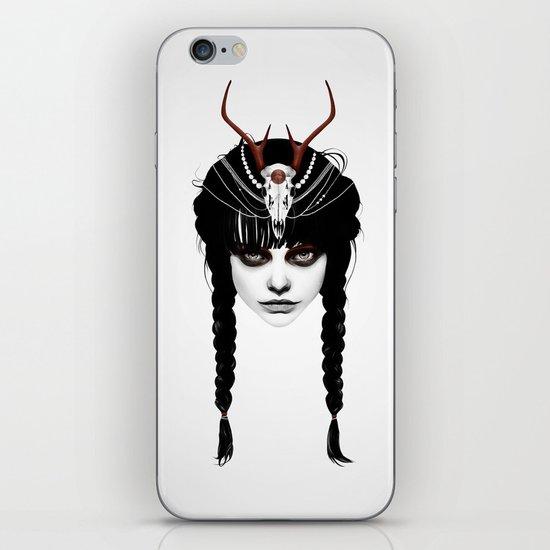 Wakeful Warrior - In Red iPhone & iPod Skin