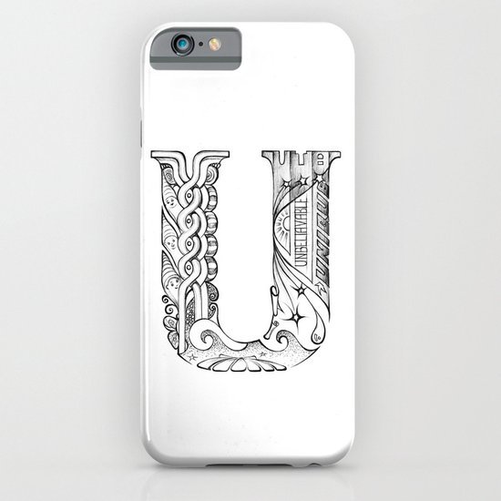 U letter iPhone & iPod Case