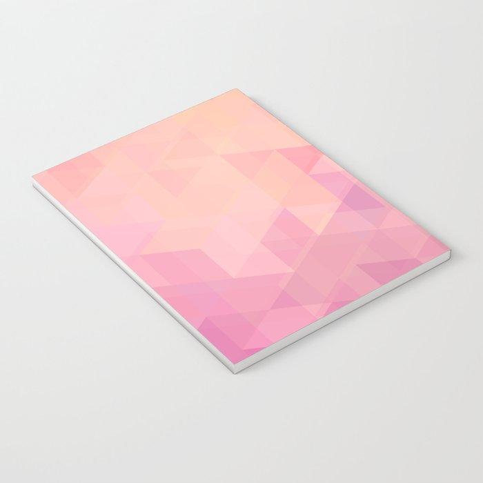 Geometric Pink  Notebook