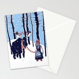 Den Swedish Christmas Moosen Stationery Cards