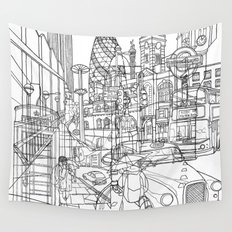 London! Wall Tapestry