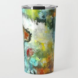 modern composition 04 by rafi talby Travel Mug