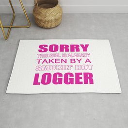 Taken By A Logger Rug