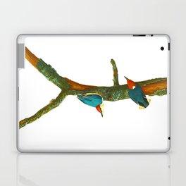 Turquoise Bird Laptop & iPad Skin