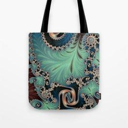 Azure - Fractal Art Tote Bag