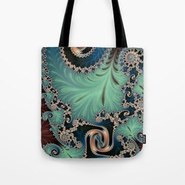 Azure - Fractal Art Tote Bag