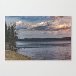 Everything Left Unknown Canvas Print
