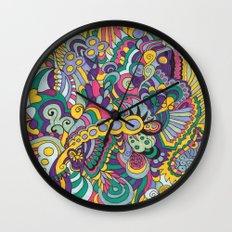 Laissez les bons temps rouler Wall Clock