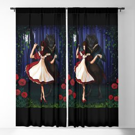 A Dangerous Dance, Red Hood And The Wolf Blackout Curtain