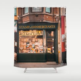 Stamp Shop in Gent Shower Curtain