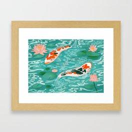 Pisces Star sign Framed Art Print