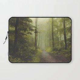 Long Forest Walk Laptop Sleeve