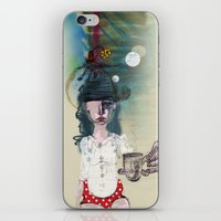 polka iPhone & iPod Skins featuring Polka by geline_illustration