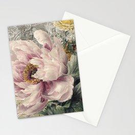 Paris Peony Stationery Cards