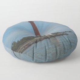 Barnegat Lighthouse Floor Pillow