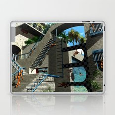 Optical Illusion - Tribute to Escher Laptop & iPad Skin