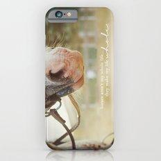 horses make me whole Slim Case iPhone 6s