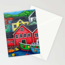 Colours of Lunenburg Stationery Cards