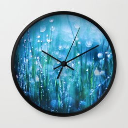 Crystals of Life Wall Clock