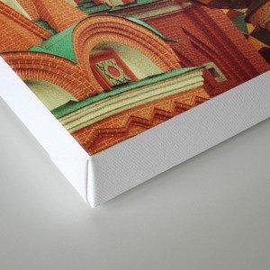 Russian Onion Domes Canvas Print