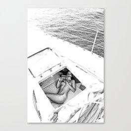 Happy Sailing Canvas Print