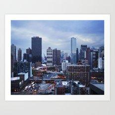 Midtown Manhattan Art Print