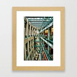 Vancouver Library Framed Art Print