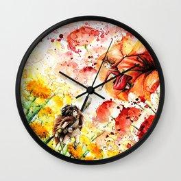 """""""Catch my hand"""" Wall Clock"""