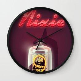 Vintage Nixie Tube Wall Clock