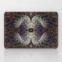 ornate elephant iPad Cases featuring Ornate by RingWaveArt