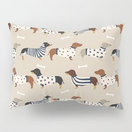 Dachshund doxie sweaters cute dog gifts dog breed dachsie owners must haves Pillow Sham